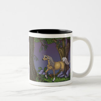 Have coffee with a Unicorn Two-Tone Coffee Mug