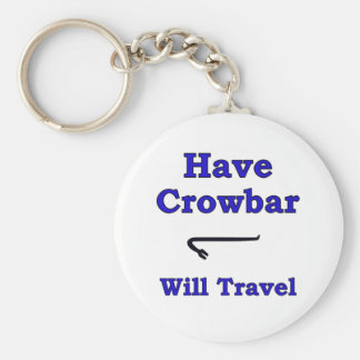 Have crowbar will travel keychain