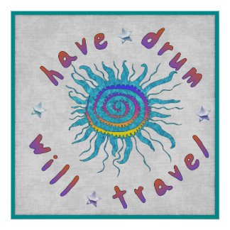 Have Drum Will Travel Posters