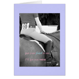 Have Faith In Me Note Card