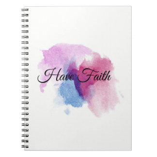 Have Faith Watercolor Journal