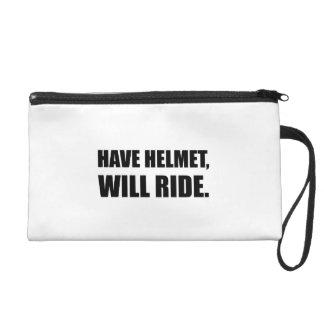Have Helmet Will Ride Wristlet