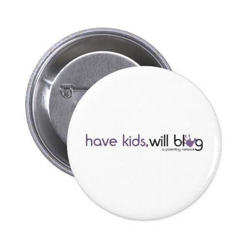 have kids will blog logo button