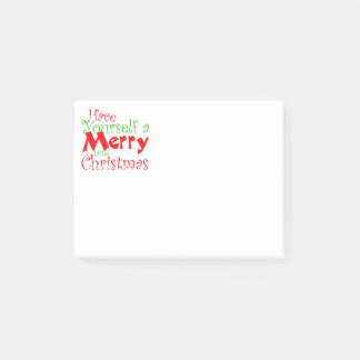 Have Merry Christmas Holiday Post-it Notes