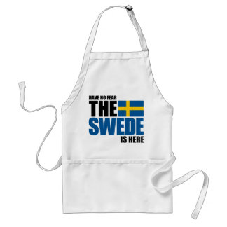 Have No Fear, The Swede Is Here Standard Apron