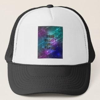 Have Rocket Will Travel Trucker Hat