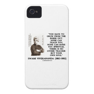 Have To Grow From Inside Out No Other Teacher Soul iPhone 4 Case-Mate Cases