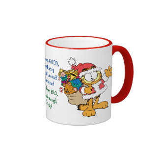 Have You Been Good? Ringer Coffee Mug