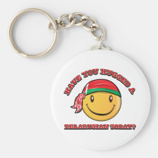 Have you hugged a Belarusian today? Keychain
