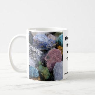 """Have You Hugged A Rock Today"" Mug"