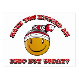 Have you hugged an Igbo boy today? Postcard