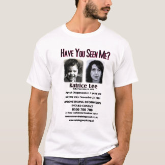 Have You Seen Me Katrice Lee Men's Muscle T-Shirt