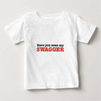 Have You Seen My Swagger (big red edition) Baby T-Shirt