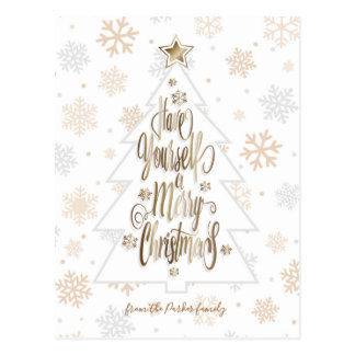 Have yourself a Merry Christmas Postcard