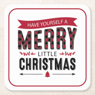 Have Yourself a Merry Little Christmas Coasters