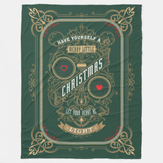 Have Yourself a Merry Little Christmas Fleece Blanket