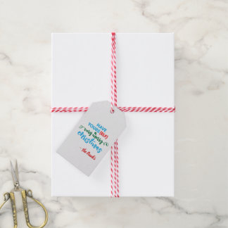 Have yoursELF a Very Merry Christmas Gift Tag