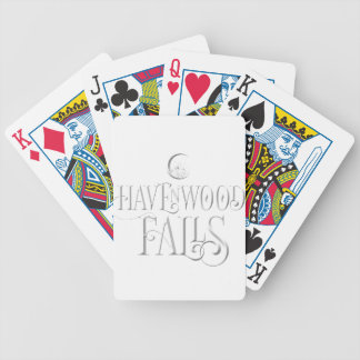 Havenwood Falls Forest Bicycle Playing Cards