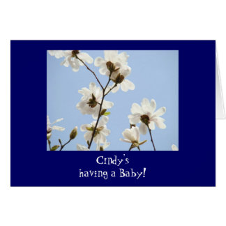 Having a Baby! invitations Baby Shower Join Us Greeting Card