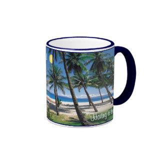 Having a bad day Take a break be here Coffee Mug