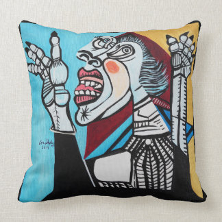 HAVING A BAD DAY THROW PILLOW