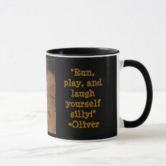 Having Coffee With Oliver Mug