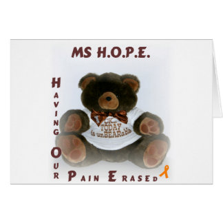 Having Our Pain Erased Card