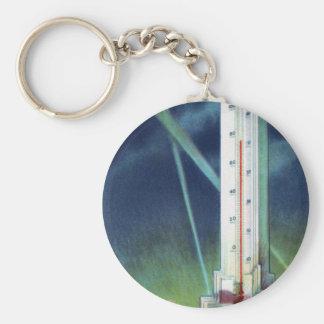 Havoline Thermometer Keychain