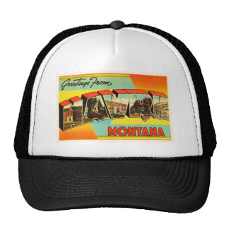 Havre Montana MT Old Vintage Travel Souvenir Trucker Hat