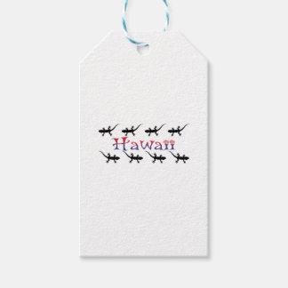 hawai geckos gift tags