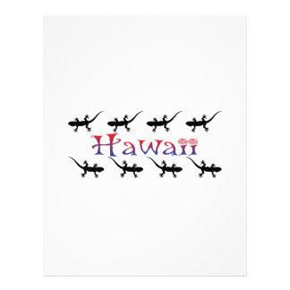 hawai geckos letterhead