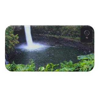 Hawaï, grande île, Hilo, automnes d'arc-en-ciel, Étui iPhone 4