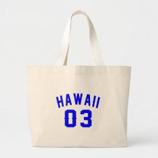 Hawaii 03  Birthday Designs Large Tote Bag