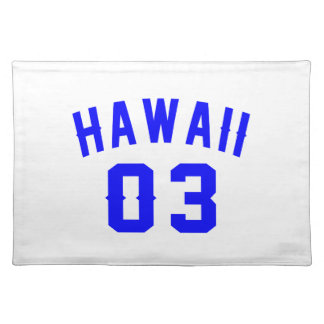 Hawaii 03  Birthday Designs Placemat