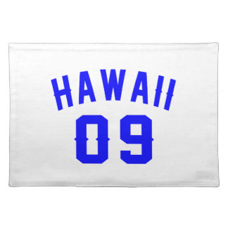 Hawaii 09 Birthday Designs Placemat