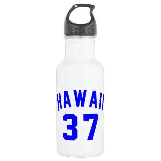 Hawaii 37 Birthday Designs 532 Ml Water Bottle