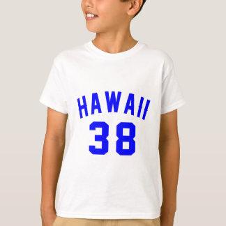 Hawaii 38 Birthday Designs T-Shirt