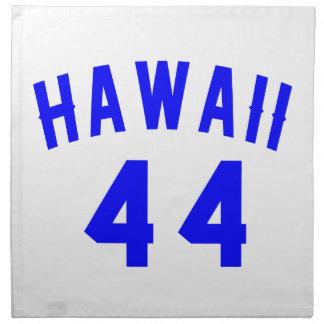 Hawaii 44  Birthday Designs Napkin