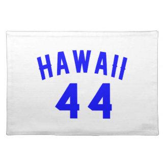 Hawaii 44  Birthday Designs Placemat