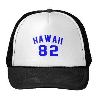 Hawaii 82 Birthday Designs Trucker Hat