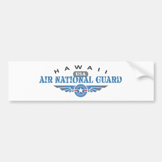 Hawaii Air National Guard Bumper Sticker
