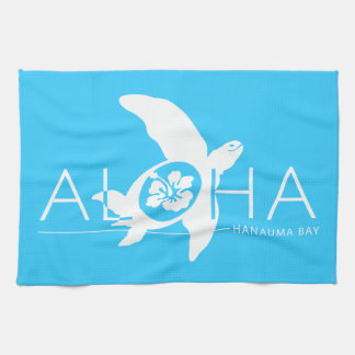 Hawaii - Aloha Turtle Kitchen Towel