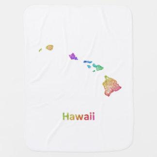 Hawaii Baby Blanket