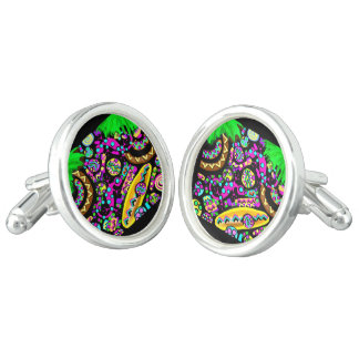 Hawaii.Beach Cufflinks