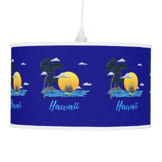 Hawaii Beach Sunset Pendant Lamp
