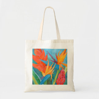 Hawaii Bird of Paradise Shopping Tote