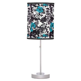 HAWAII BLUE FLORA TABLE LAMP