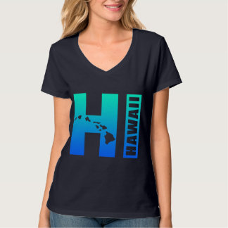 HAWAII (Blue HI Design) T Shirt