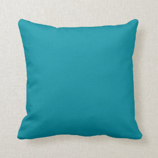 Hawaii Blue Personalized Aqua Teal Background Pillows