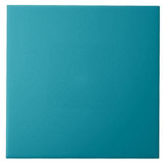 Hawaii Blue Personalized Aqua Teal Background Tile